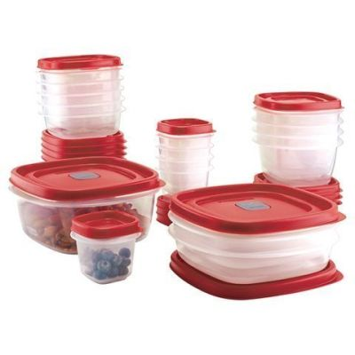 Target: Rubbermaid 34-Pc. EasyFindLids Plastic Container Set $17.99 (Reg. 19.99)