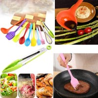 AMAZON: Silicone Heat Resistant Kitchen Cooking Utensils Non-Stick Baking Tool $2.99 ($15) Shipped