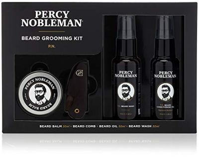 AMAZON: Percy Nobleman Beard Grooming Kit, JUST $14.99 (REG $34.00)