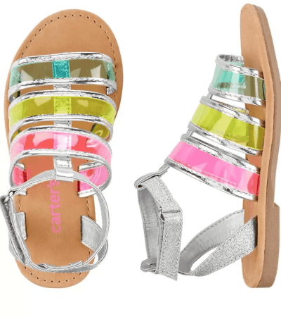 Carter's: Rainbow Sandals $13 (Was $36)