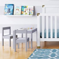 AMAZON: Baby Relax Hunter 3 Piece Kiddy Table and Chair Set, Gray – PRICE DROP!