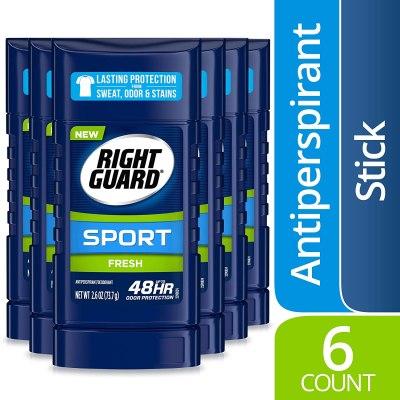 AMAZON: Right Guard Sport Antiperspirant Deodorant, JUST $11.96 (REG $24.37)