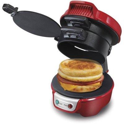 WALMART: Hamilton Beach Breakfast Sandwich Maker For $24.99 + Store Pickup!