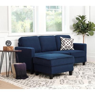 SAM'S CLUB: Princeton Fabric Sofa and Ottoman Set (Assorted Colors) $399 ($699)
