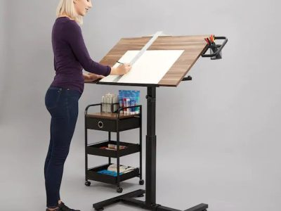Michael's: Sit Stand Draft Table Set, Just $57.48 (Reg $229.99)