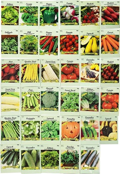 Amazon: Set Of 35 Assorted Vegetable & Herb Seeds For $19.99 (Was $40) + Free Shipping!