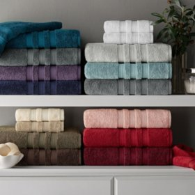 SAM'S CLUB: Hotel Premier Collection 100% Cotton Luxury Washcloth For $3.98 (2 Pk.Assorted Colors)