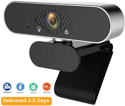AMAZON: Webcam with Microphone 1080P FHD USB Streaming Computer, JUST $29.14 WITH CODE 45K5338P