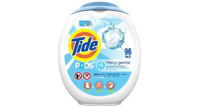 AMAZON: Tide PODS Free and Gentle Laundry Detergent, 96 Count $15.97 ($24)