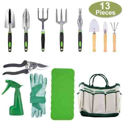 Amazon: 10 Piece Garden Tools Set-Gardening Tools, Just $18.49 after code!