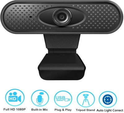 Amazon: 1080P Webcam with Microphone, Just $5.99 (Reg $39.99)