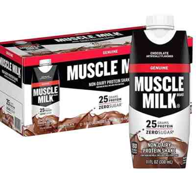 Amazon: 12 Pack Muscle Milk Genuine Protein Shake, Chocolate,Just $14.98 (Reg $22.99)