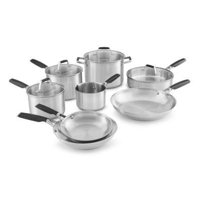 Home Depot: 12-Piece Stainless Steel Cookware Set, Just $110 (Reg. $274.99)