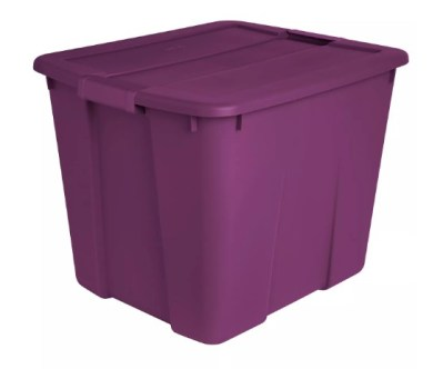 Target: Sterilite 20 Gal Latch Tote Exotic Purple For ONLY $8.99
