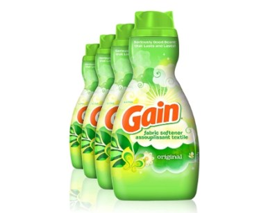Amazon: 4 Count Gain Liquid Fabric Softener, Original for $12.88 (Reg. Price $15.88)