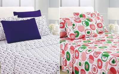Zulily: 4-Piece Sheet Sets Up to 75% OFF – Starting at ONLY $12.99 (Reg up to $80)