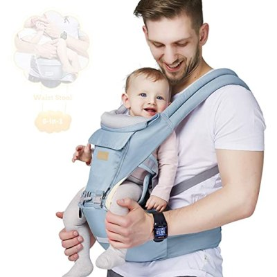 Amazon: 6-in-1 Baby Carrier with Waist Stool for $28.49 (Reg. Price $56.99)