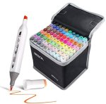 Amazon: 80 Colors Dual Tips Alcohol Based Permanent Markers Set for $19.49 (Reg. Price $38.99)