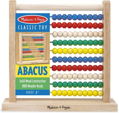 Amazon: Melissa & Doug Abacus $13.04 (Reg. $14.99)