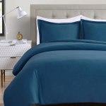 Amazon: Duvet Cover Queen/Full - Washed Microfiber Bedding Set with Zipper Closure & Corner Ties, Just $19.59