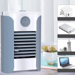 Amazon: Mini Air Cooler Household Desktop Mute Spray Cooling Fan, Just $ 38.997 ( Reg. Price 129.99 )
