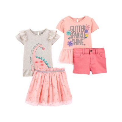 Walmart: Carter's Baby Toddler Girls 4 Pc Outfit Set For $25 (Reg. $33.76)