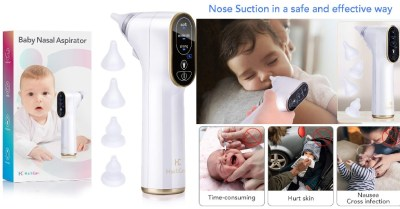 Amazon: Baby Nasal Aspirator Electric For $24 (Reg. $40)
