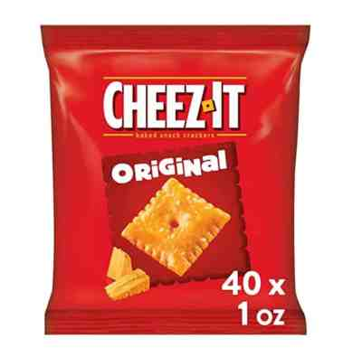 Amazon: 40 Count Cheez-It Original Baked Snack Cheese Crackers for $10.18 (Reg. $11.98)