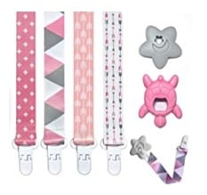 Amazon: Pacifier Teether Clips Holder As Low As $3.49