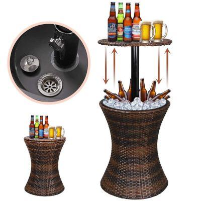 Walmart: Zeny 5.5 Gallon Cool Bar Patio Beverage Cooler Table $69.75 (WAS $116.25)