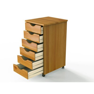 Walmart: Adeptus Wood Rolling Craft Storage Drawers For $55.14