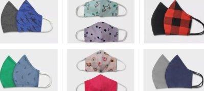 Target: Cat & Jack Face Masks for Kids Only $4, 2-Pack