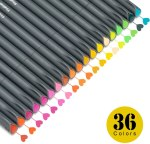 Amazon: Colored Pens Set, Fine Line Point Drawing Marker Pens, Just $7.99 (Reg $18.99)
