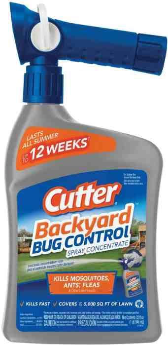 Amazon: Cutter Backyard Bug Control Spray, Just $8.86 (Reg. $16.99)