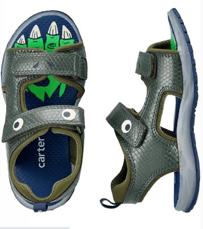 Carter's: Dinosaur Play Sandals $13 (Was $38)