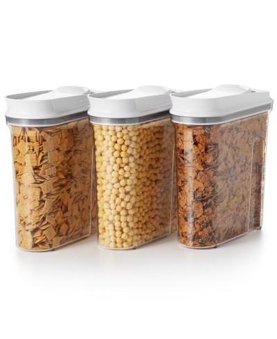Macy's: OXO Good Grips 3-Pc. Pop Cereal Dispenser Set ONLY $37.49 (Reg $84)