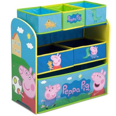 Amazon: Delta Peppa Pig 6-Bin Toy Storage Organizer Only $22.50 (Reg. $37)