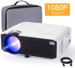 Amazon: Display Projector [Carry Case Included], Support 1080P, Just $79.99 (Reg $109.99)