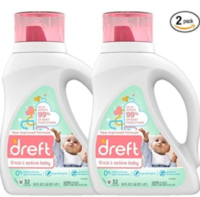 Amazon: Dreft Stage 2 Active Baby Laundry Detergent for $16.11 (Reg. Price $20.11)