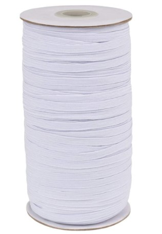 Amazon: Idefair Braided Elastic Band for Sewing, 1/4-inch For $10.00