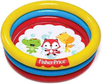 Amazon: Fisher Price 3-Ring Play Pool Only $39.07 (Reg. $70)