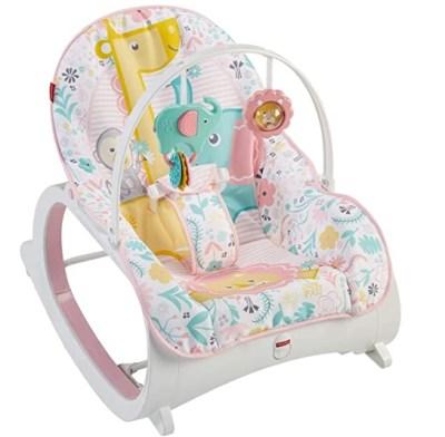 Amazon: Fisher-Price Infant-to-Toddler Rocker, Pink for $39.99 (Reg. Price $44.99)