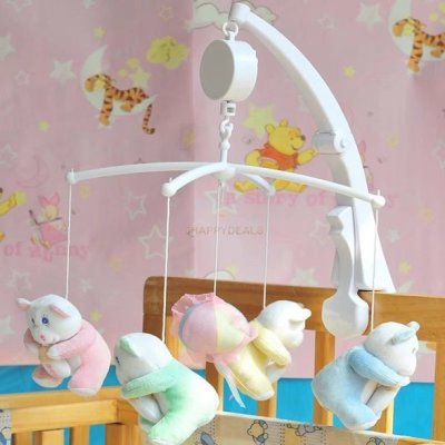 Walmart: VicTsing Rotary Baby Crib Bed Bell Toy, Hanging Music Box For $11.99 (Was $42)
