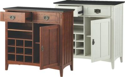 Home Depot: Bar Cabinet with Wine Storage for Just $200 (Reg $500) + FREE Shipping