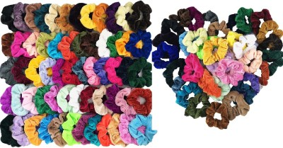 Amazon: 60pcs Scrunchy Colorful Hair Ties $5.99 ($10)