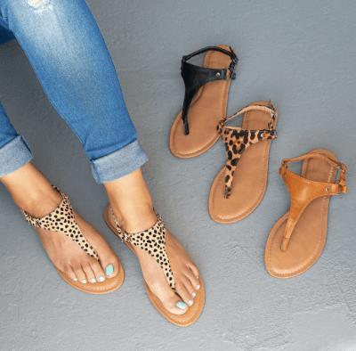 Jane: Casual Thong Sandals , Just $19.99 ( Reg. Price $39.99 )