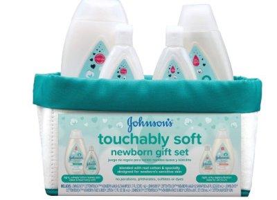 Amazon: Johnson's Baby Touchably Soft Newborn Baby Gift Set for $11.97 (Reg. Price $13.49)