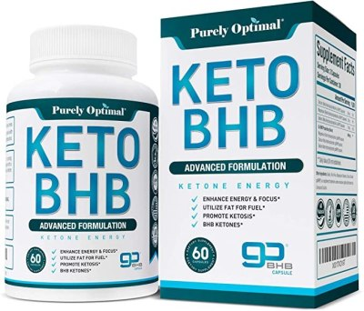 Amazon: Purely Optimal Premium Keto Diet Pills With Ketosis For $18 (Was $52