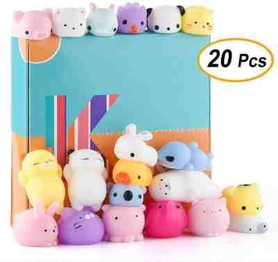 Amazon: 20 Pcs Kawaii Animal Mochi Squishies Toys for $9.59 (Reg. Price $15.99)