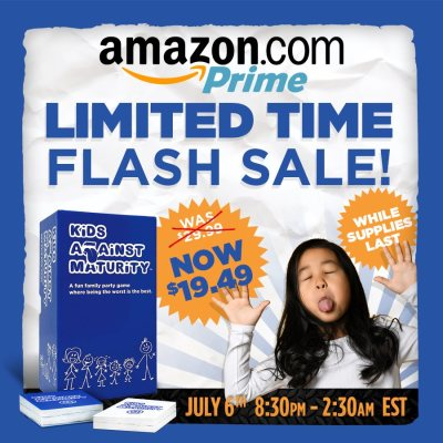Amazon: Kids Against Maturity Card Game for Kids and Families, Just $19.49 (Reg $29.99)